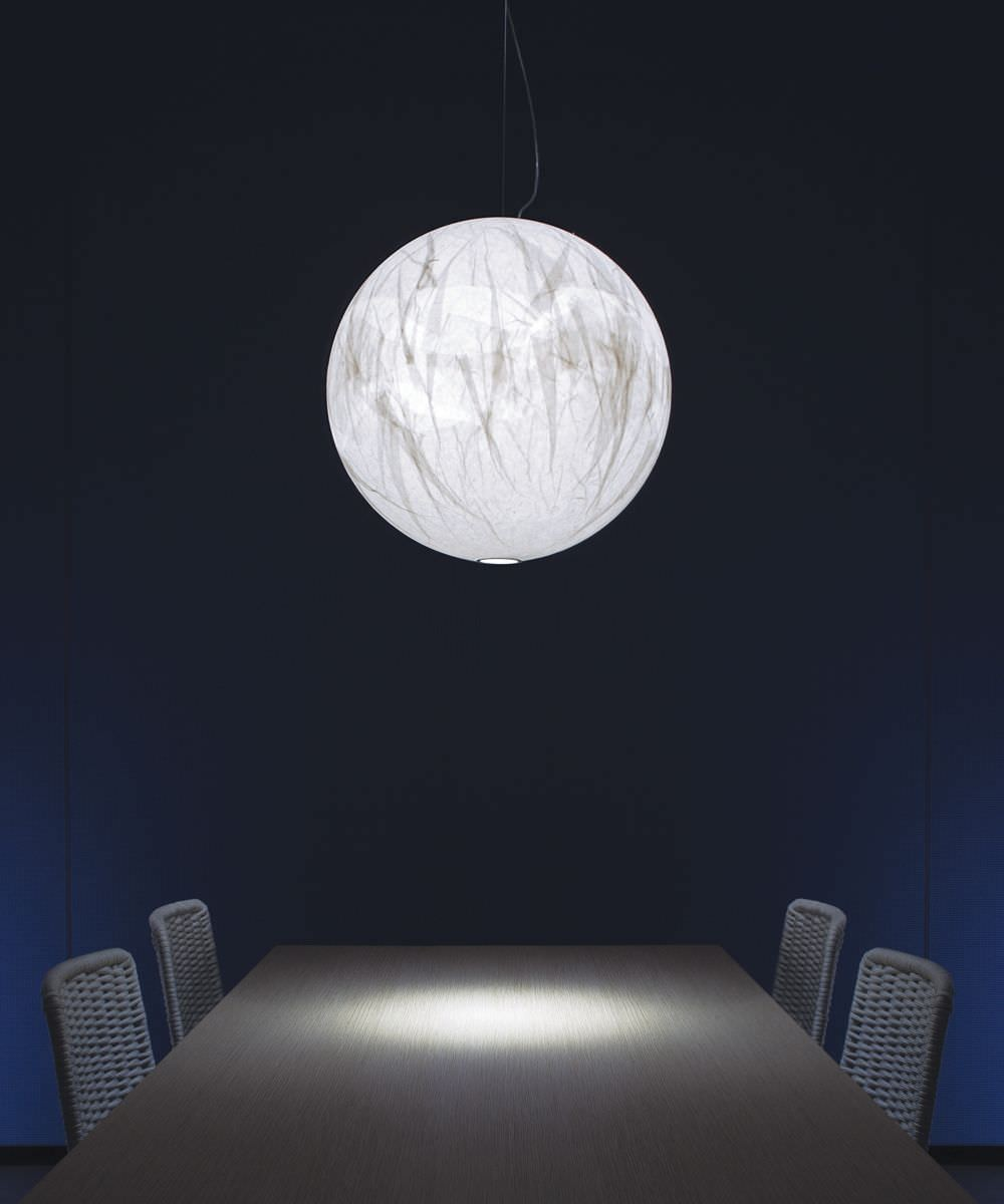 buy the davide groppi moon suspension lamp at