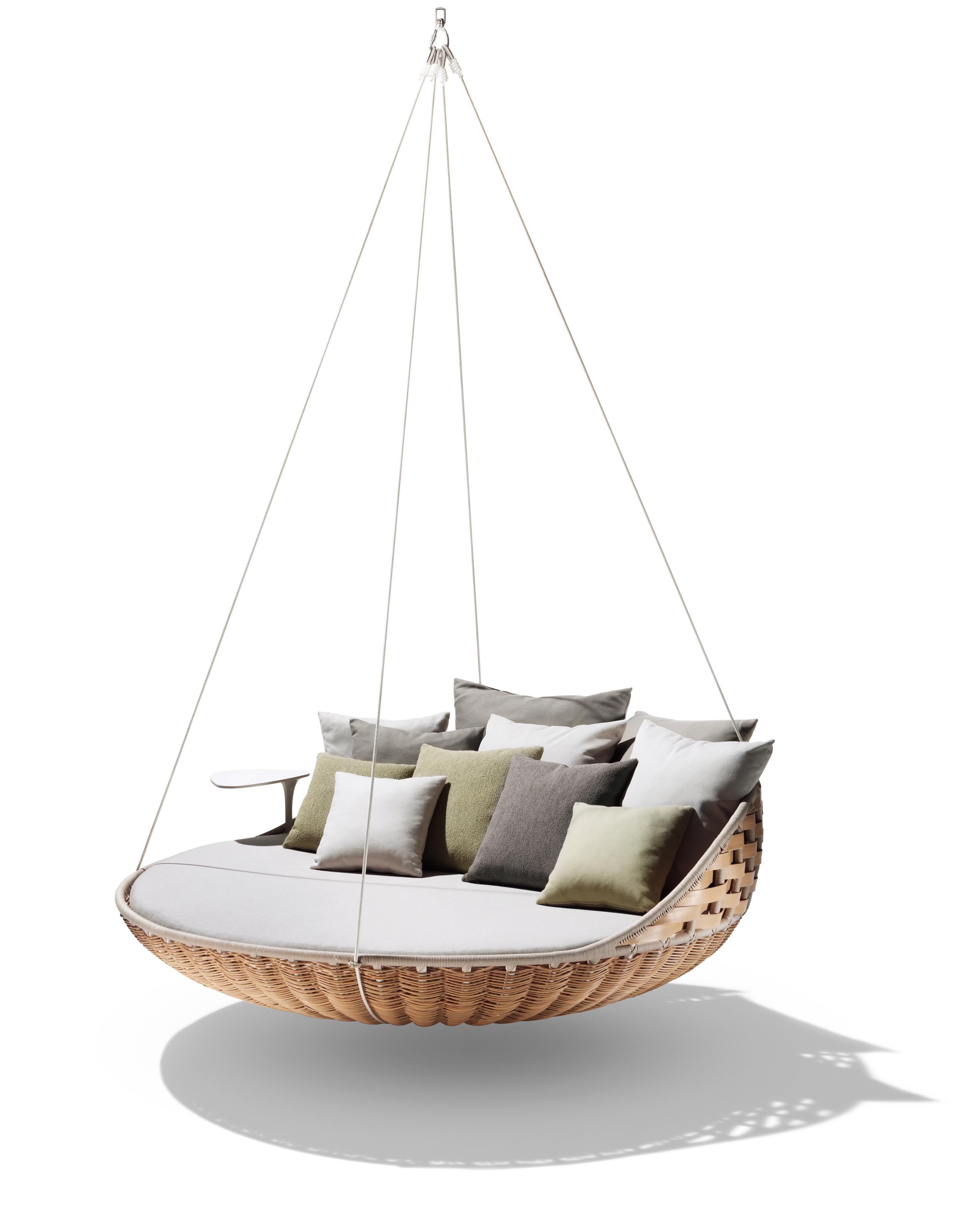 Buy The Dedon Swingrest Hanging Lounger Sofa At Deplaincom